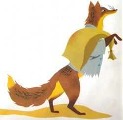 renard poule rousse