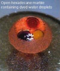 liquid marble reactor