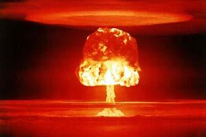 explosion bombe atomique