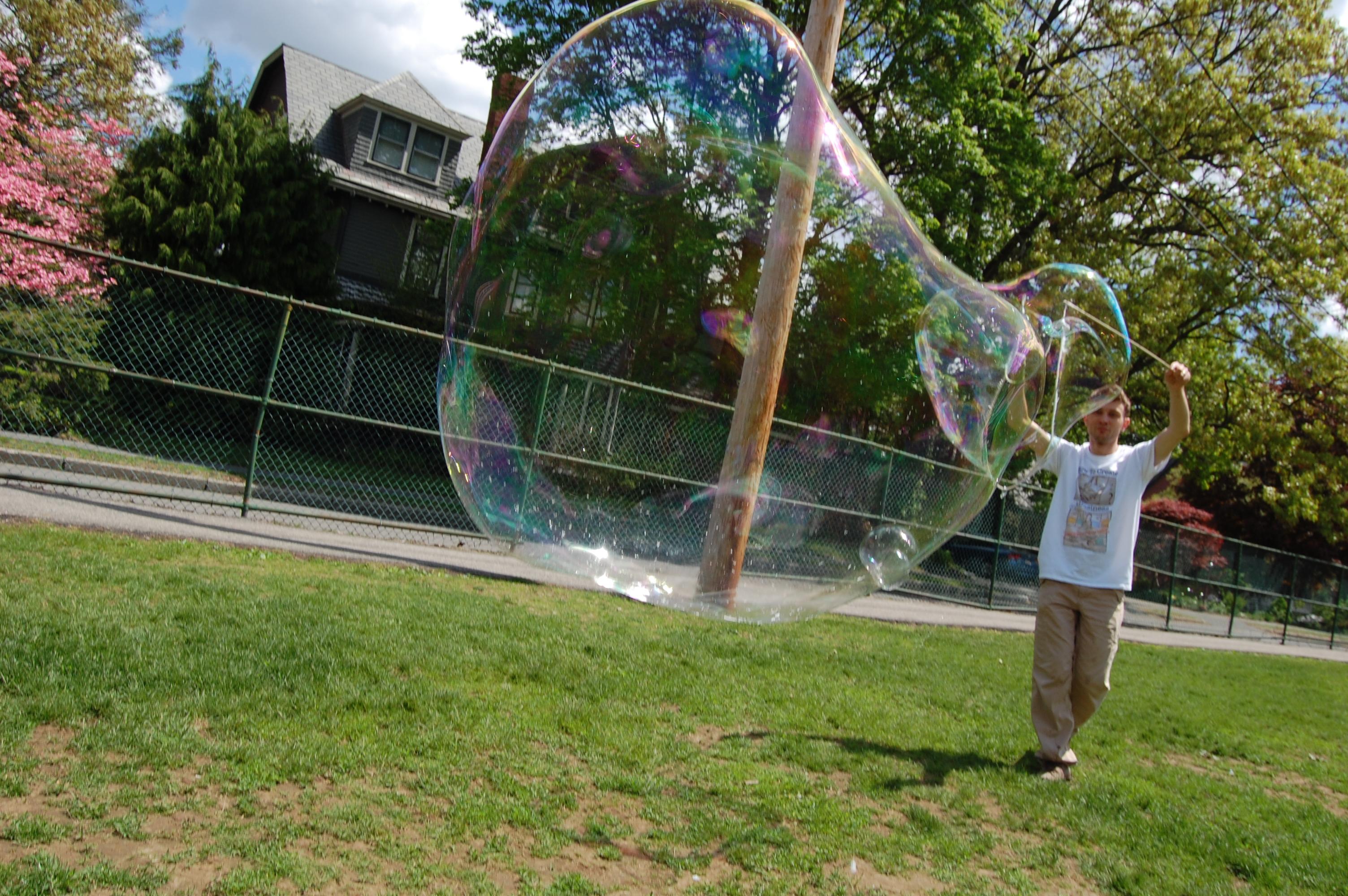 bulles savon géantes
