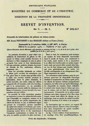 Eugène_Freyssinet_brevet-beton